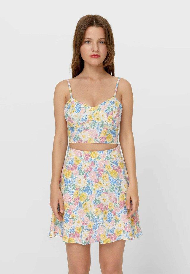 Áčková sukně - multicoloured