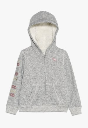 SHERPA - veste en sweat zippée - grey