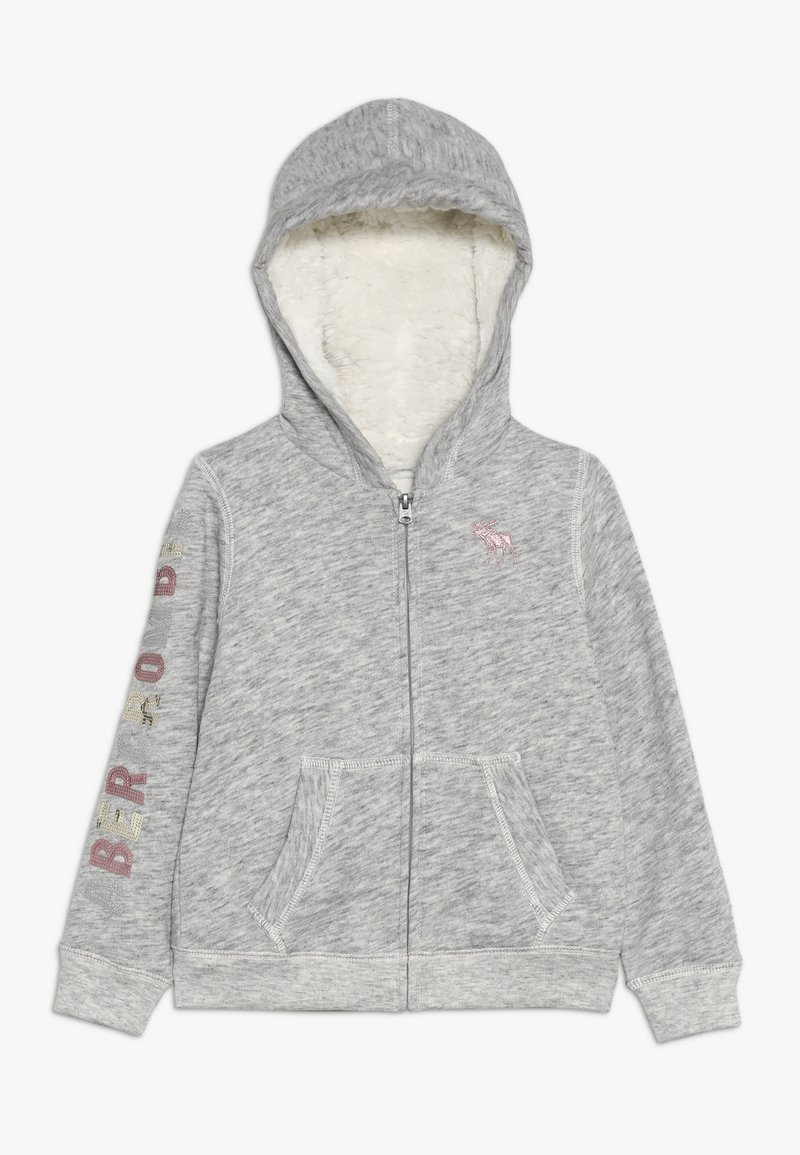 Abercrombie & Fitch - SHERPA - Mikina na zip - grey