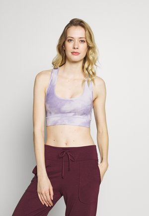 BRA TIE DYE - Sports-bh'er - purple
