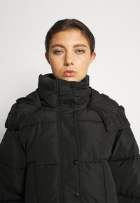 Sixth June - SHORT PUFFER JACKET HOOD - Winter jacket - black - 4