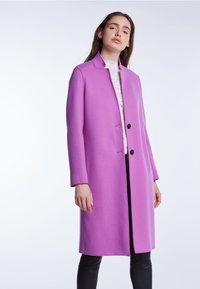 SET - Classic coat - iris orchi - 0