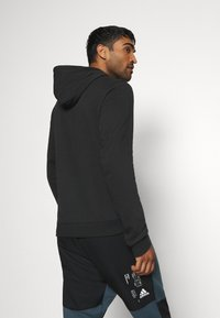 adidas Performance - ESSENTIALS SPORTS INSPIRED HOODED - Sweat à capuche - black - 2