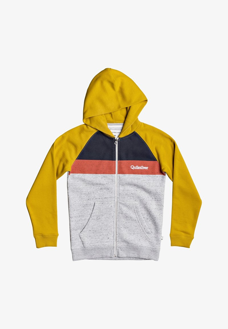 Quiksilver - EASY DAY - Zip-up hoodie - honey