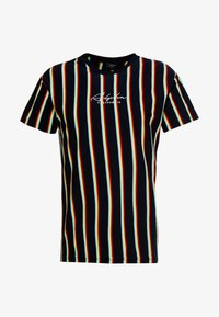 New Look - ALFA VERT STRIPE TEE - T-shirt con stampa - navy - 3