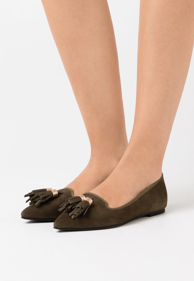 Pretty Ballerinas - ANGELIS  - Ballet pumps - oro/canada