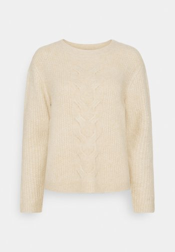 BLEND - Jersey de punto - cream beige
