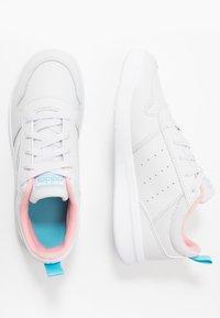 adidas Performance - TENSAUR - Sports shoes - dash grey/footwear white/glow pink - 0