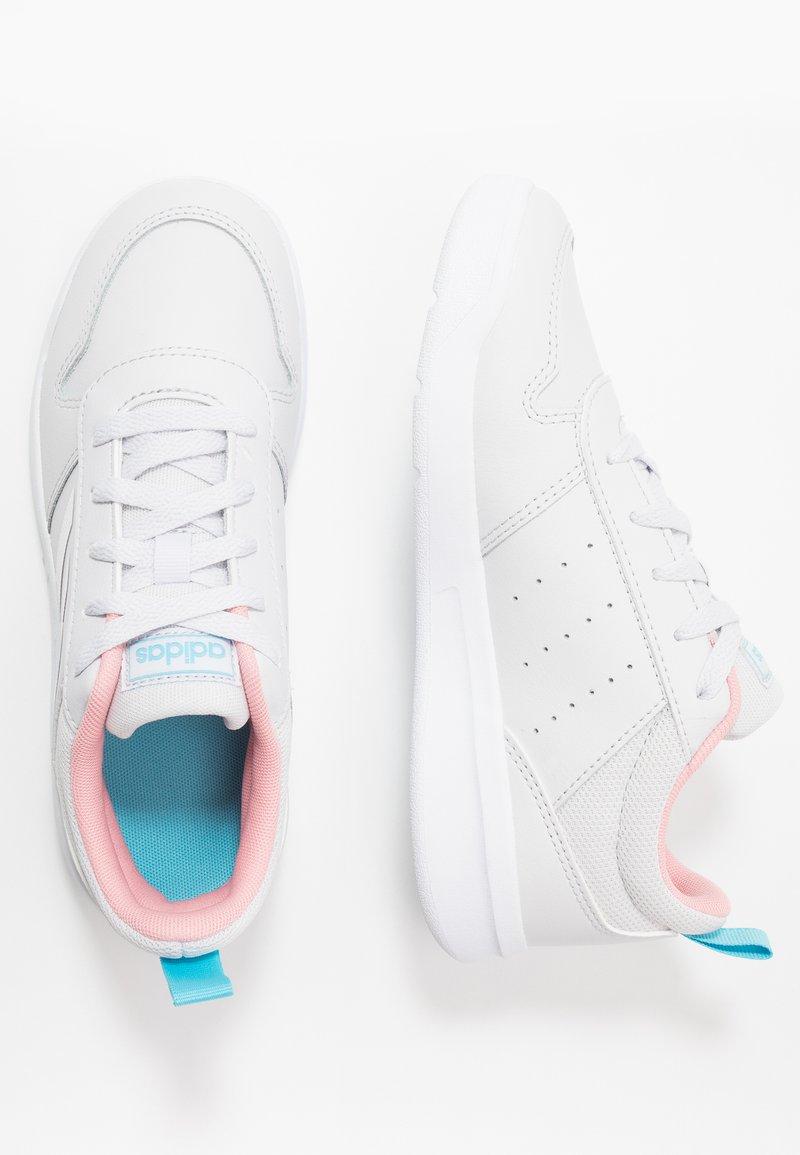 adidas Performance - TENSAUR - Sports shoes - dash grey/footwear white/glow pink