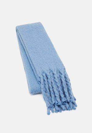 BIG FRINGE SCARF - Sjaal - light dusty blue
