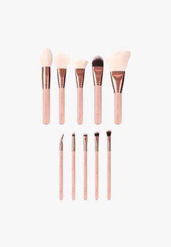 EXPANSION SET - Makeup brush set - rose golden vintage