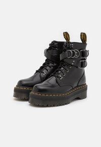 Dr. Martens - JADON HDW-8 EYE BOOT UNISEX - Veterboots - black buttero - 1