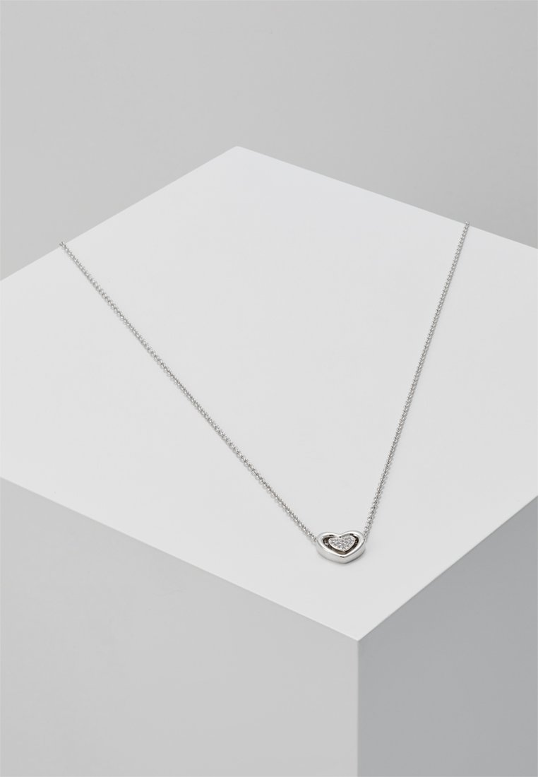 Fossil - HEART - Ketting - silver-coloured
