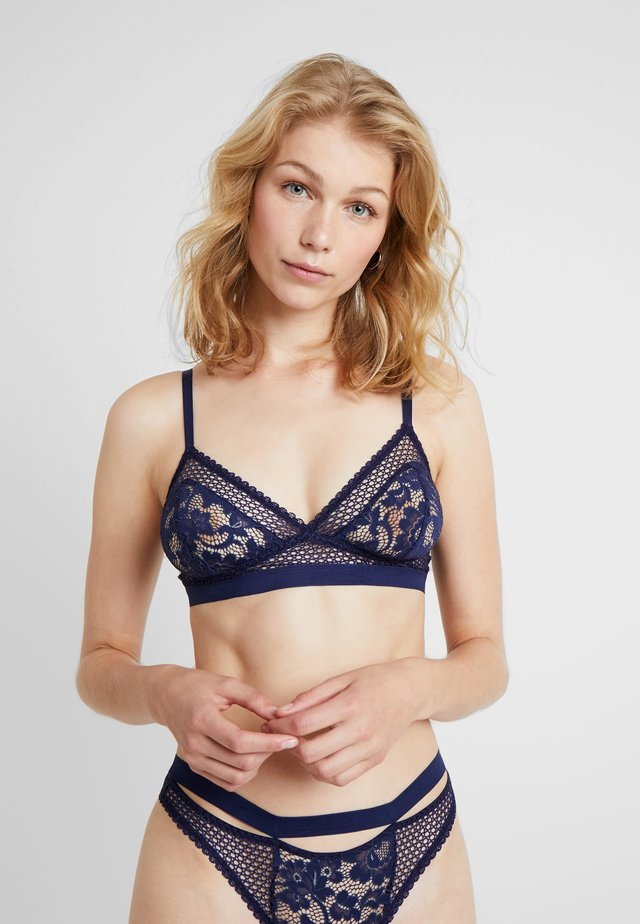 PETUNIA SOFT CUP TRIANGLE BRA - Triangel BH - midnight blue
