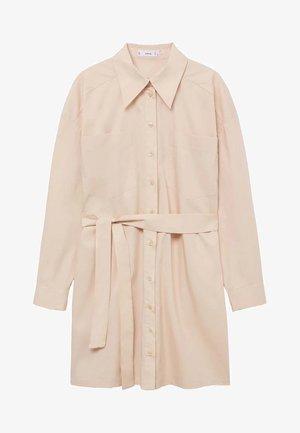 Skjortekjole - beige