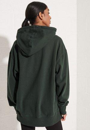 COLLEGE GRAPHIC - Hoodie - academy dark green