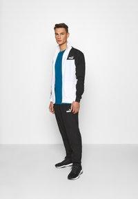 Puma - HEATHER TEE - T-shirt basic - digi-blue heather - 1