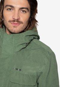 Protest - Ski jacket - mottled dark green - 3