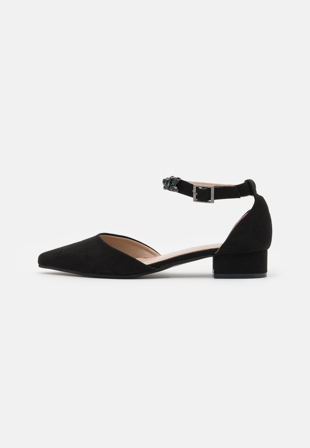 PELICANBLING ANKLE STRAP  - Classic heels - black