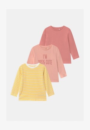 NBFNUKA 3 PACK - Long sleeved top - peachskin