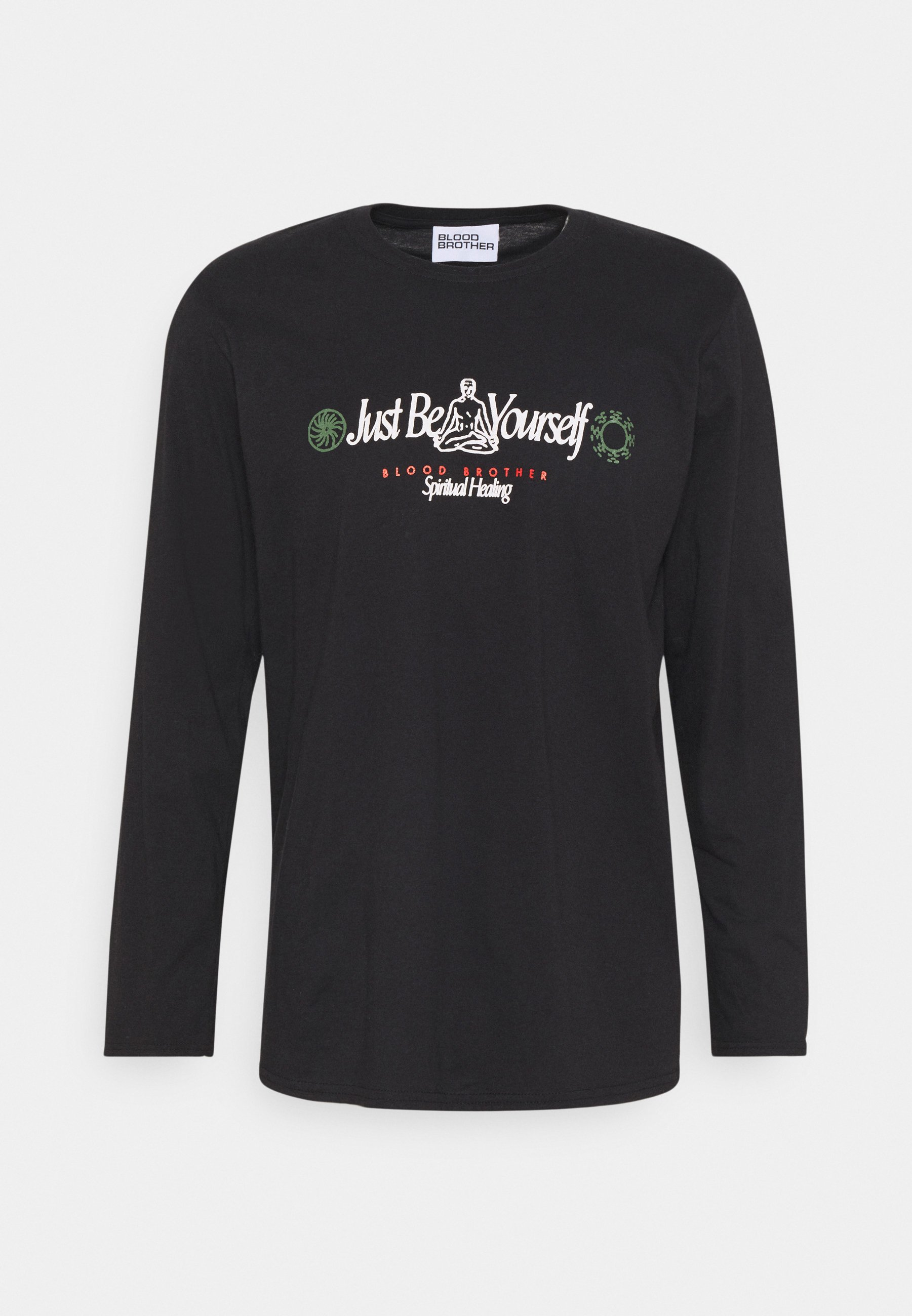 Herrer JUST BE YOURSELF TEE UNISEX - Langærmede T-shirts