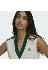 adidas Originals - TENNIS LUXE DRESS ORIGINALS - Blousejurk - off white - 4