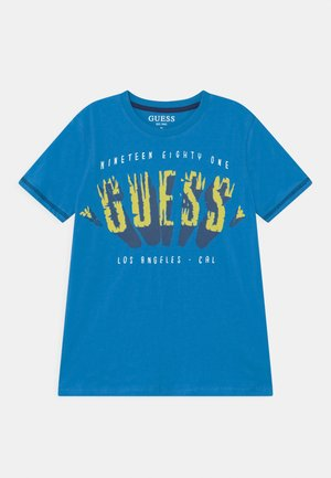 JUNIOR  - T-shirt con stampa - cerulean paradise