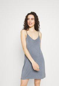Cotton On Body - SLEEP RECOVERY V NECK NIGHTIE - Nightie - blue jay wash - 0