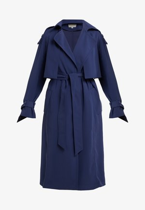 DRAPEY COAT - Trenchcoat - true navy