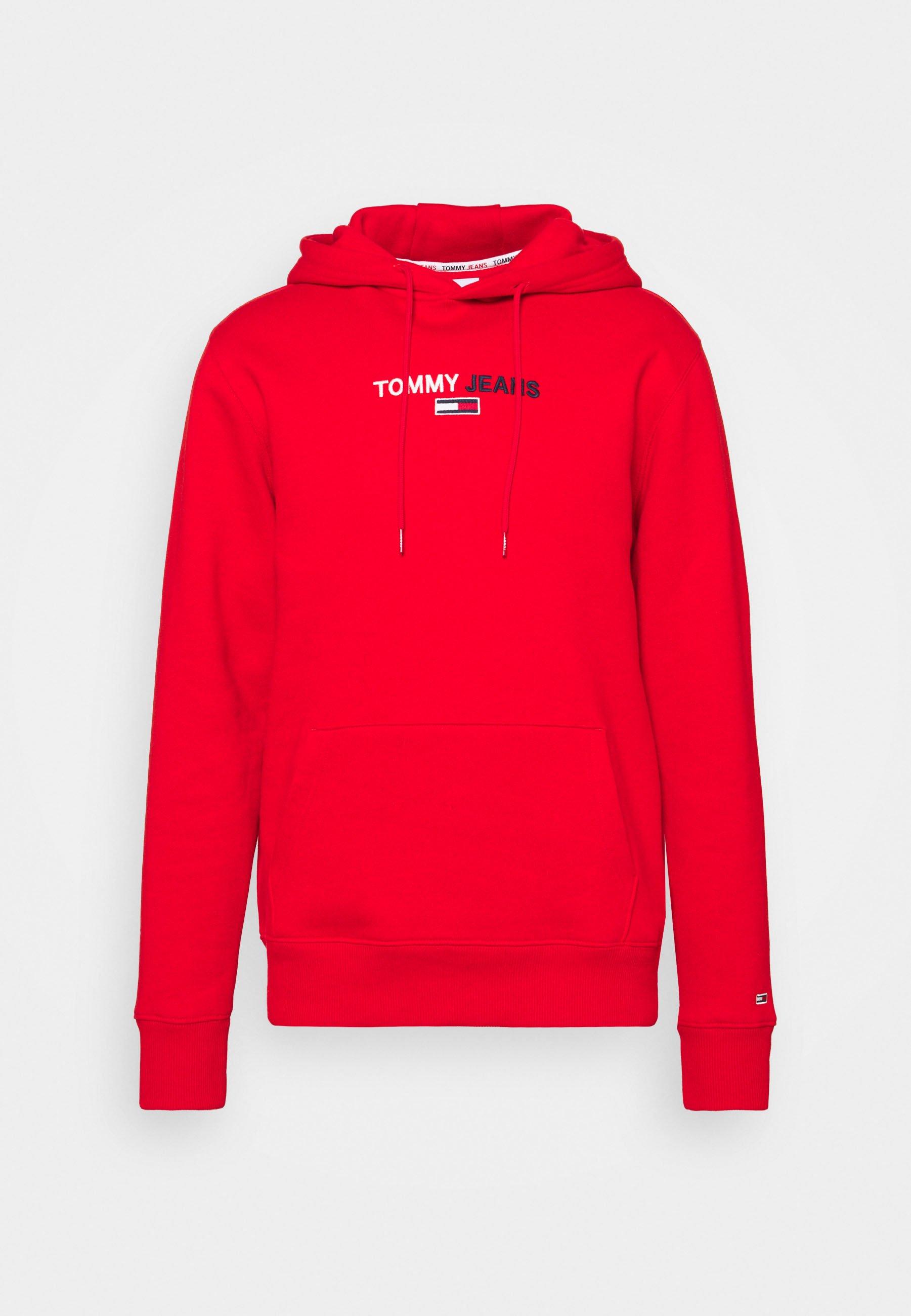Un Arrière Style Logo Zip Through Hoody Sweat à capuche Haut à Capuche