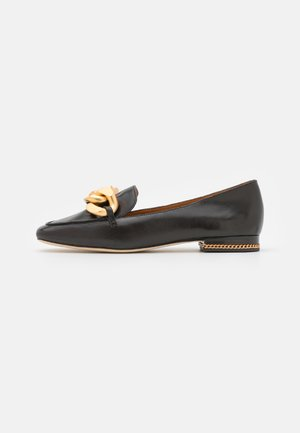 RUBY CHAIN LOAFER - Instappers - chocolate brown
