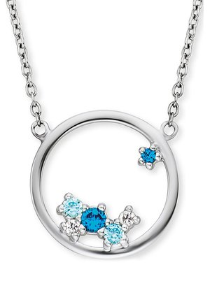 Necklace - silber/blau