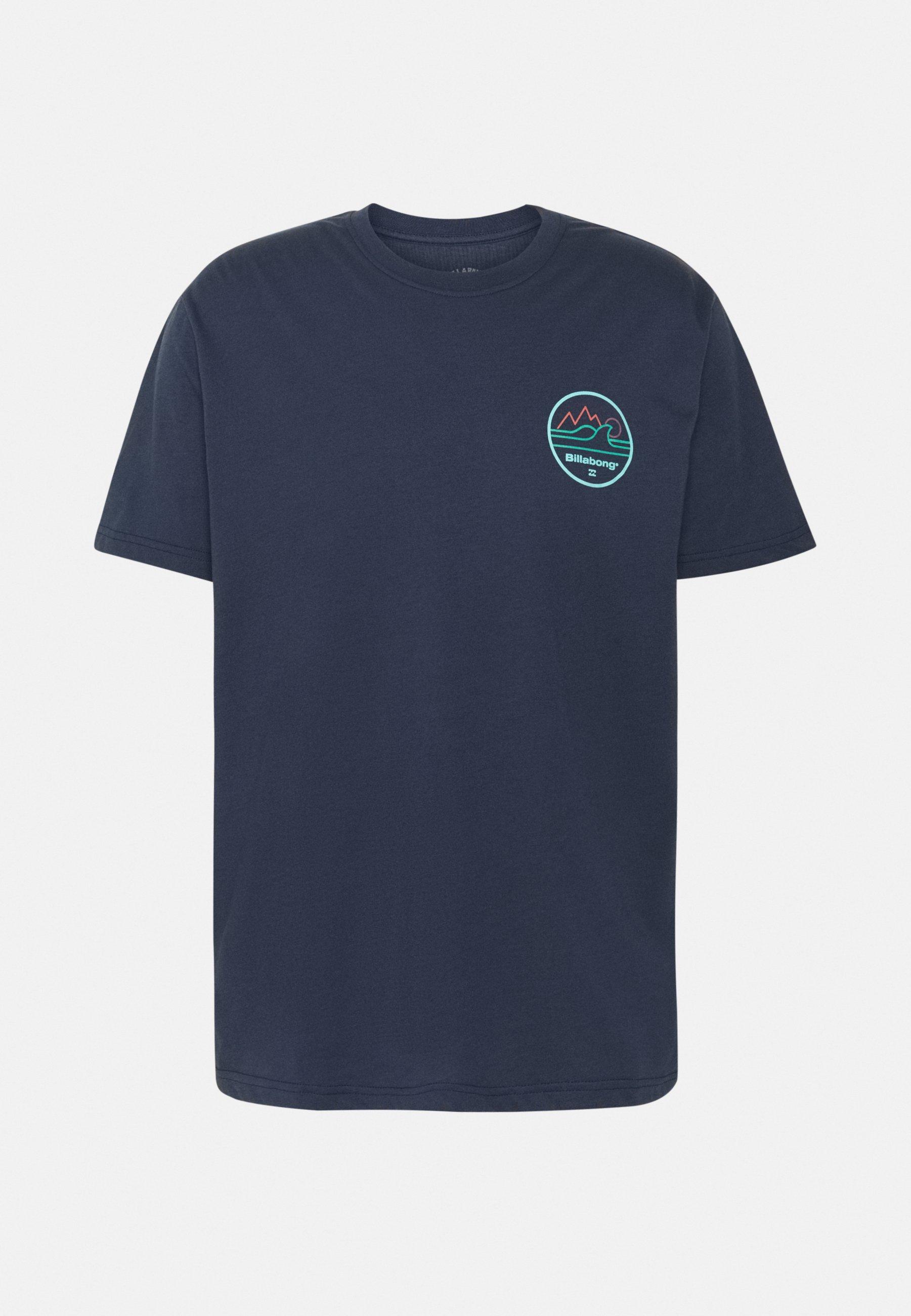 Men PEAK WAVE SS - Print T-shirt