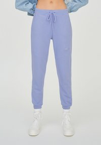 PULL&BEAR - Tracksuit bottoms - purple - 0
