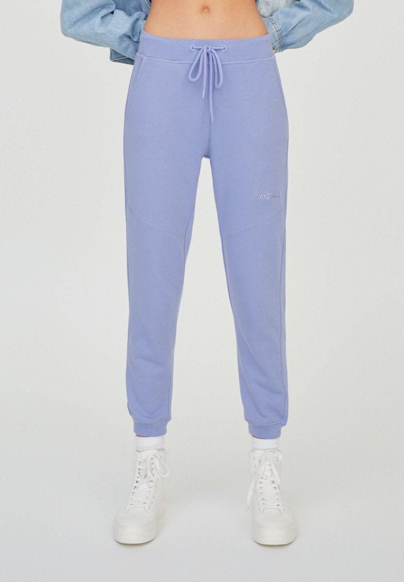PULL&BEAR - Tracksuit bottoms - purple