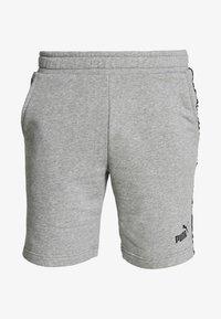 AMPLIFIED SHORTS - Sportovní kraťasy - medium gray heather