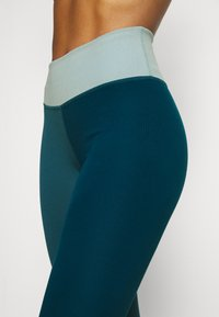 Nike Performance - ONE LUXE - Leggings - dark teal green - 4