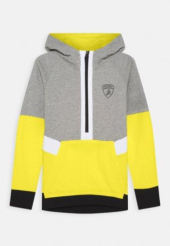 MULTICOLOR HALF ZIP - Sweatshirt - grey antares