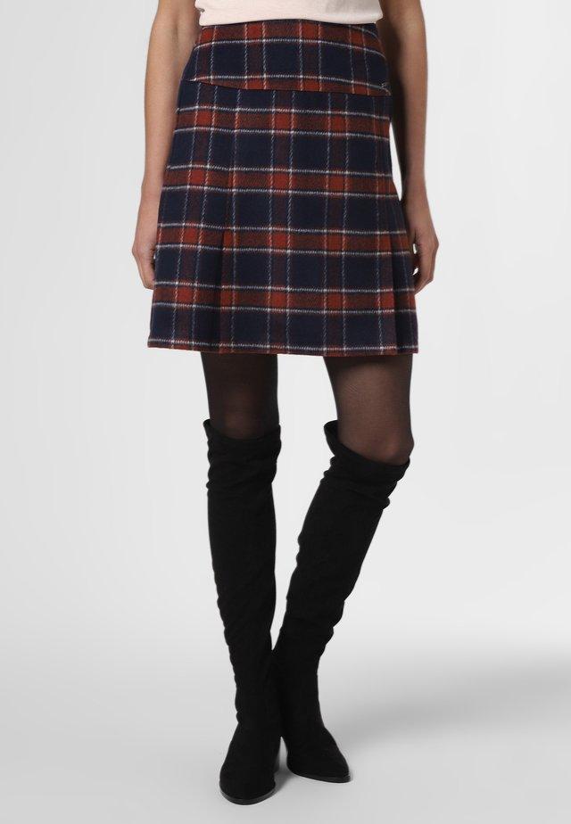 A-line skirt - terra marine