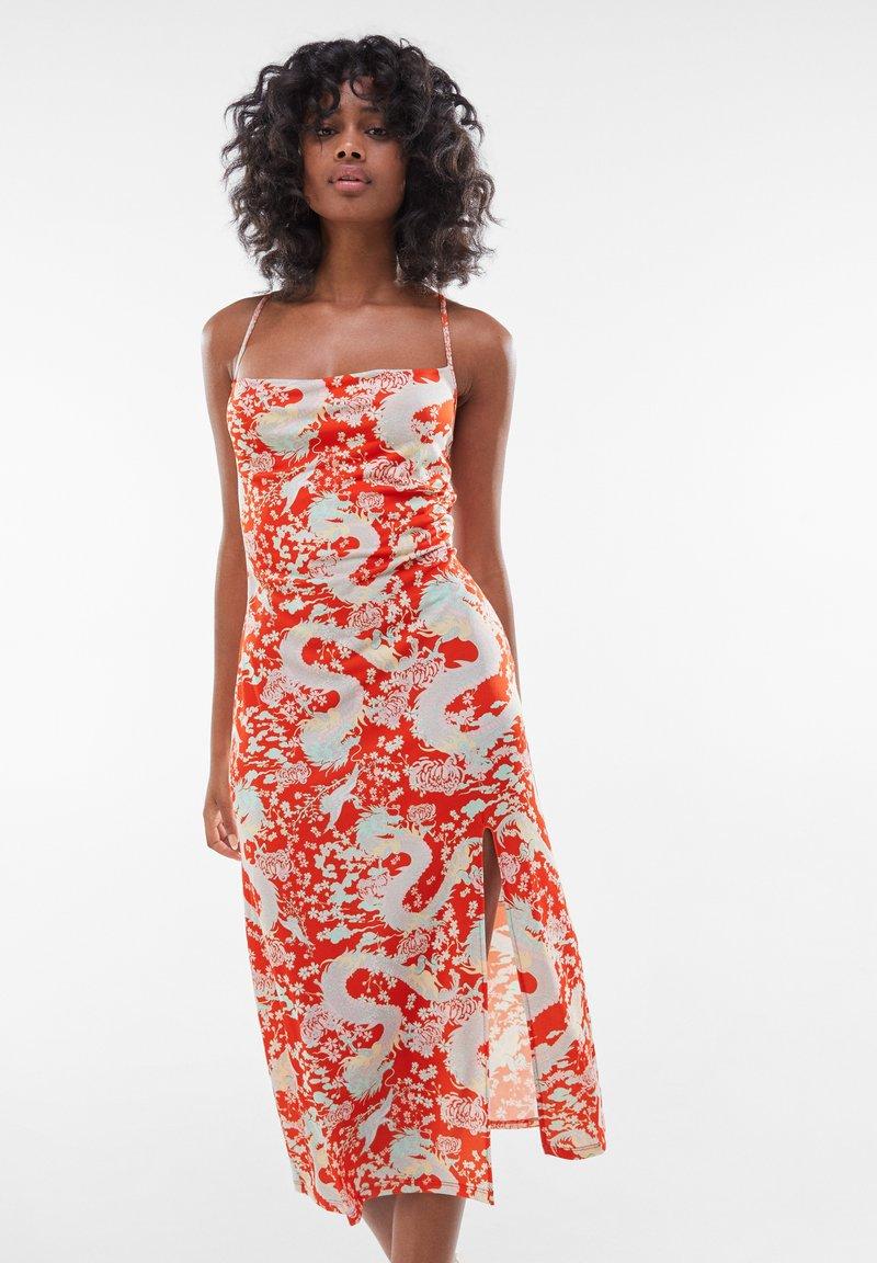 Bershka - Day dress - red
