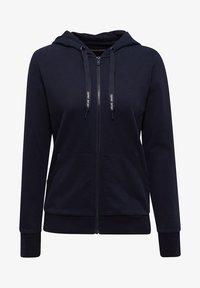 Esprit Sports - Zip-up hoodie - navy - 3