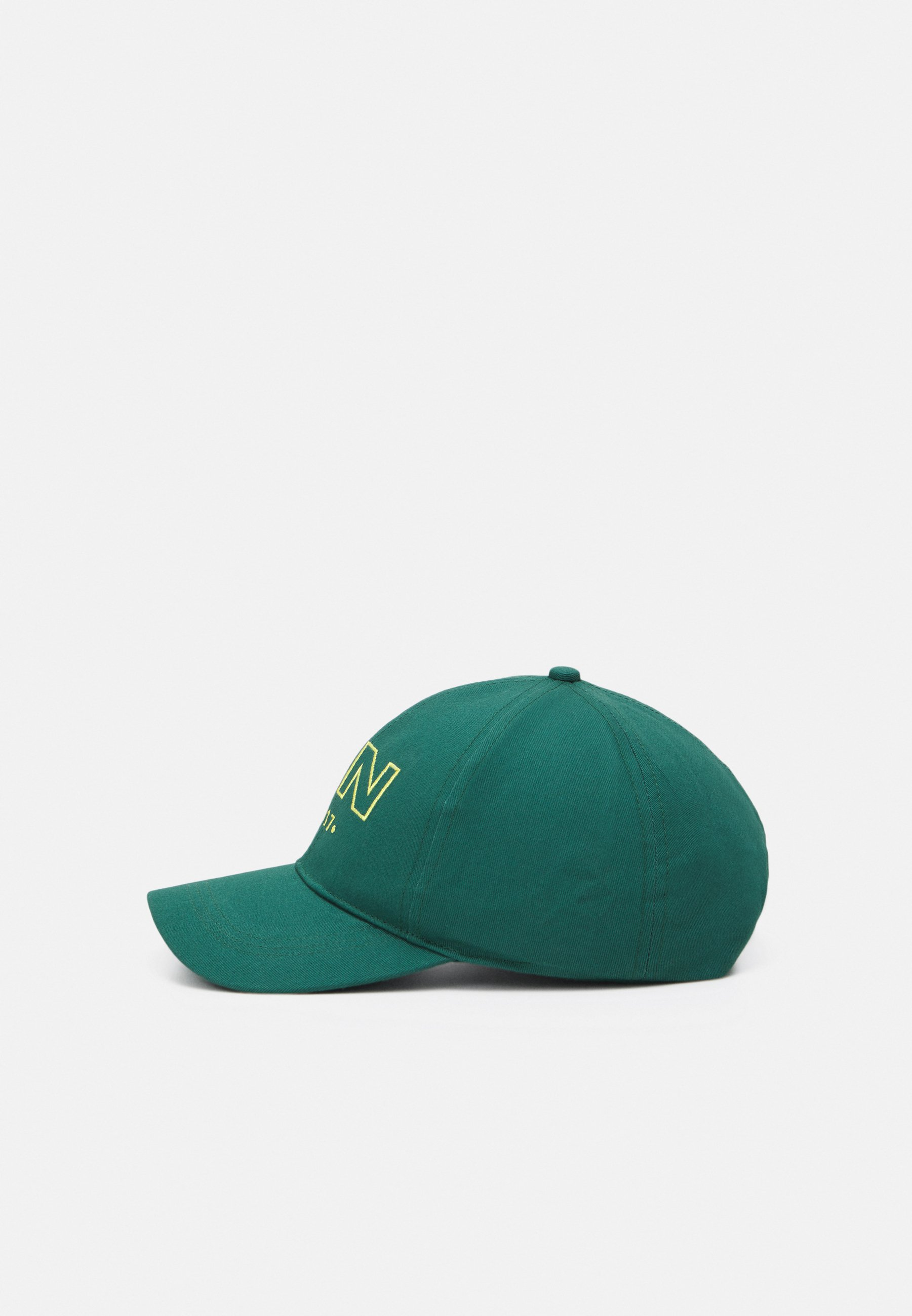 Men RAW EDGE DETAIL AND EMBROIDERED LOGO UNISEX - Cap