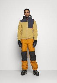 The North Face - UP & OVER PANT TIMBER - Zimní kalhoty - tan/black - 1