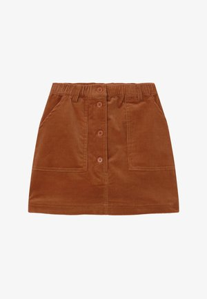 GARANCE - A-line skirt - baked clay