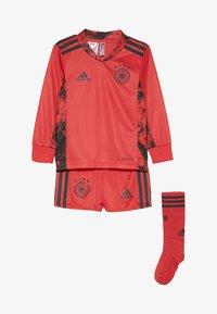 adidas Performance - DEUTSCHLAND DFB TORWART HEIMTRIKOT MINI - Oblečení národního týmu - glory red - 3