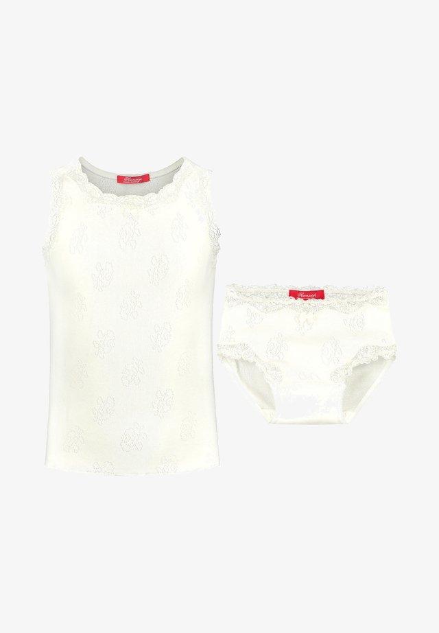 SET - LUXURIOUS LACE POINTELLE  - Underklädesset - ivory