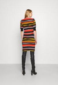 Diane von Furstenberg - SHIRA SKIRT - Mini skirt - black/red/grey - 2