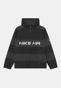 Nike Sportswear - AIR UNLINED ANORAK - Jas - black/dark smoke grey - 0