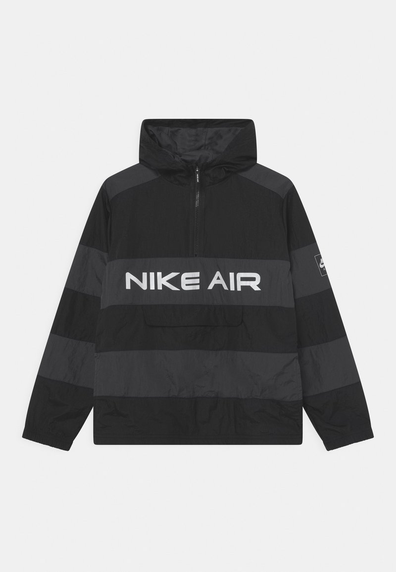 Nike Sportswear - AIR UNLINED ANORAK - Jas - black/dark smoke grey