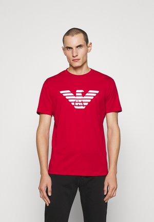 T-shirt z nadrukiem - rosso